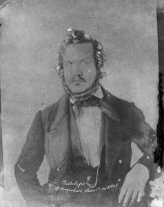 این عکس در سال ۱۸۴۹ به روش کالوتایپ برداشته شده.