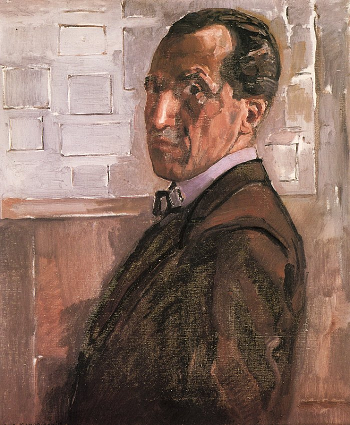 Mondrian_Self_portrait_1918