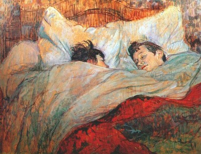 in bed - 1893