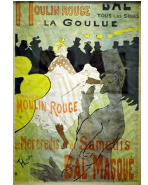 پوستر مولن روژ