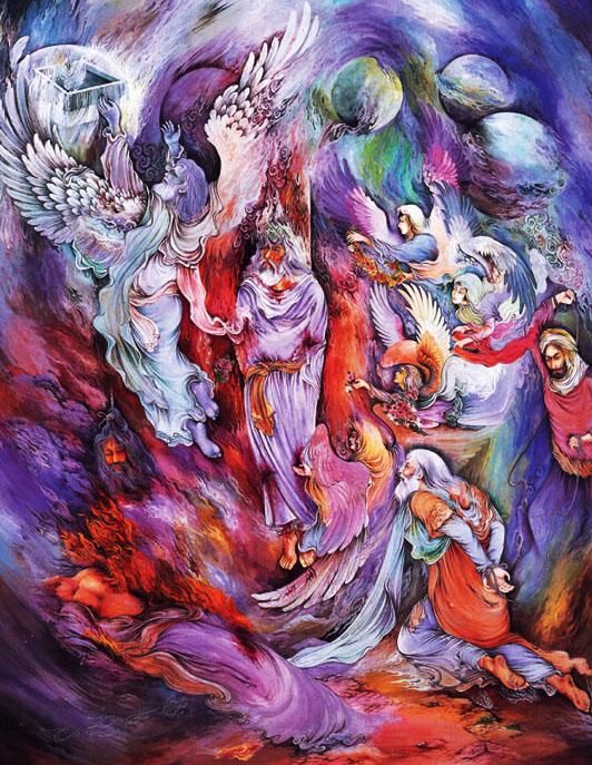 آموزش نگارگری ایرانی - مینیاتور ایرانی