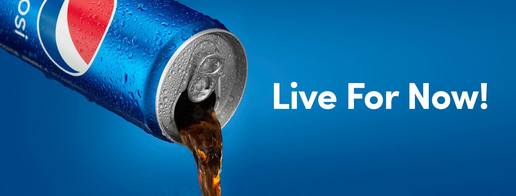 شعار تبلیغاتی پپسی