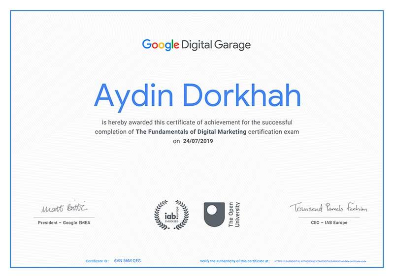 آکادمی دیجیتال مارکتینگ گوگل