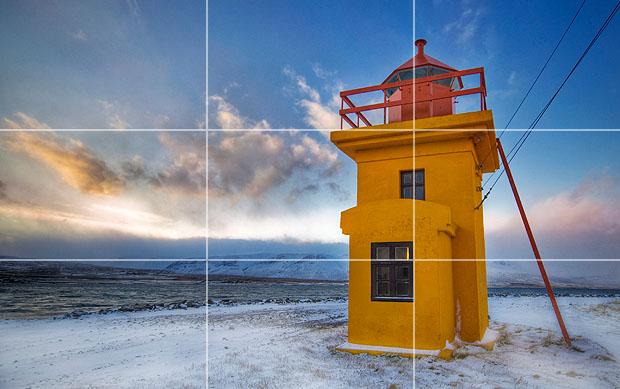 اصول کادربندی در عکاسی