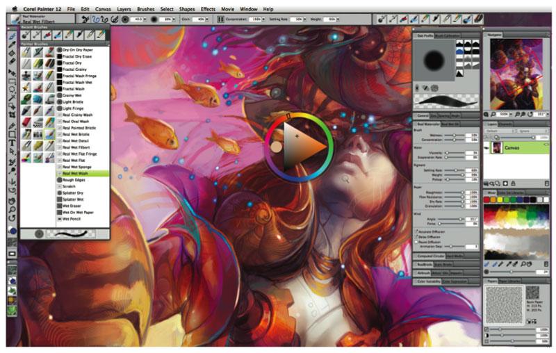 Arti.ir-Concept Art-corel painter