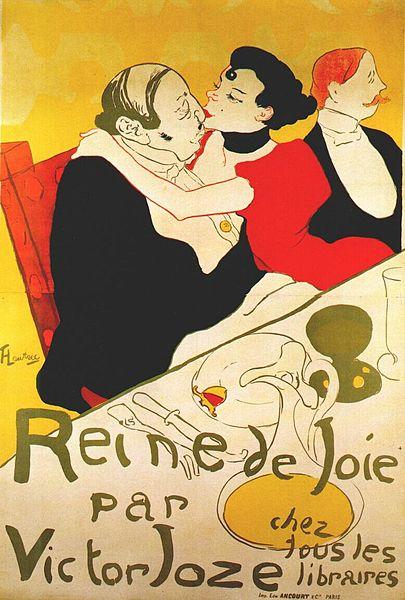 reine de joie (poster) 1892