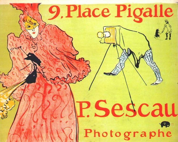 the photographer sescau (poster) 1894